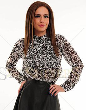camasi inflorate pentru femei Camasa PrettyGirl Glamorous