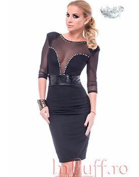 Colectii noi de rochii Rochie trei sferturi din tul