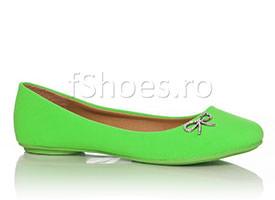 Balerini neon verde
