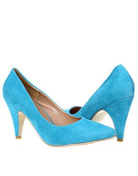 Pantofi Colour me bleu