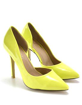 Pantofi Clamo galbeni