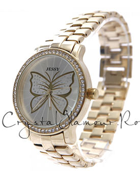Ceas dama Jessy Fly Gold