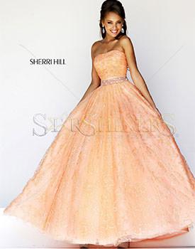 Rochie Sherri Hill Peach