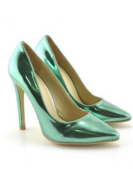 Pantofi Hufo verzi