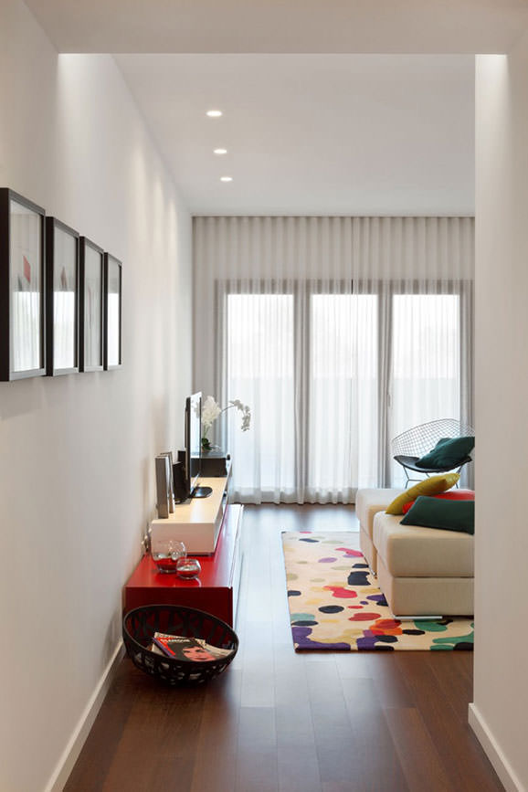 Apartament cu design contemporan