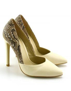Pantofi Toria bej