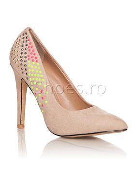 Pantofi Jolin bej