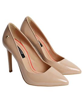 Pantofi stiletto nude piele naturala Trends