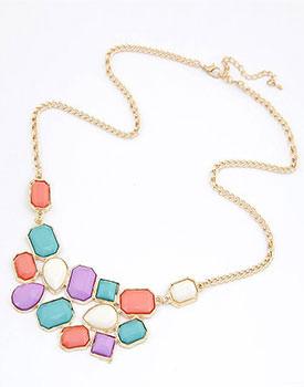 Colier Color Gems