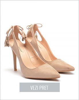 Pantofi Koly bej