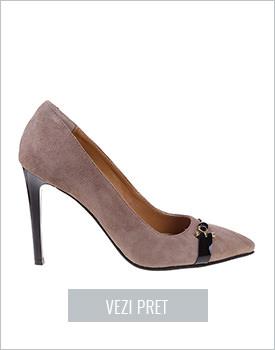 Pantofi din piele naturala Arianne