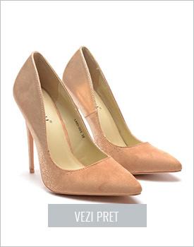 Pantofi Grand bej