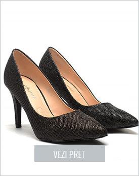 Pantofi Masters negri