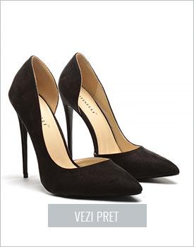 Pantofi Bizar negri