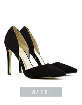 Pantofi Dablin negri