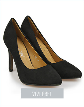 Pantofi stiletto Fulvia negri