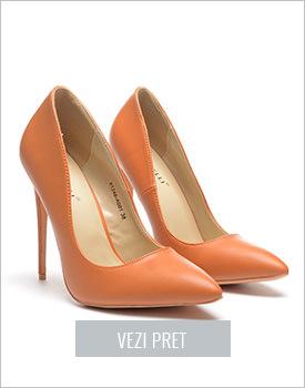 Pantofi Ludos camel