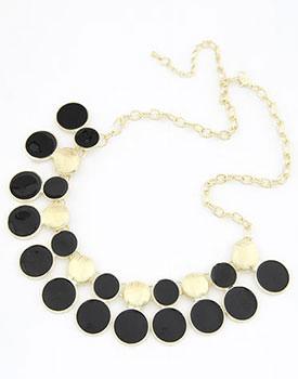 Colier Black Dots