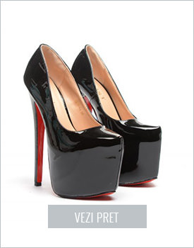 Pantofi Tropez negri