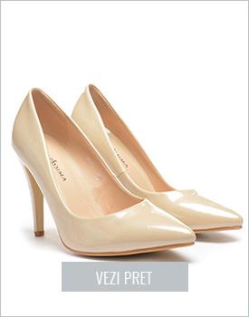 Pantofi Barbison bej