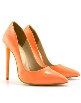 Pantofi Libano portocalii