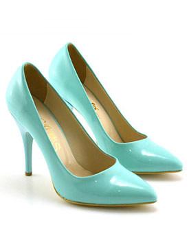 Pantofi Alida verzi