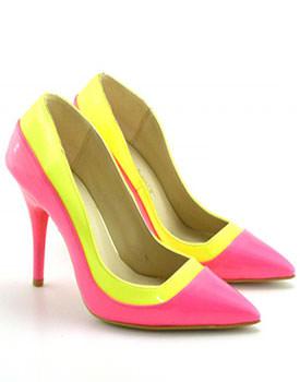Pantofi Mango roz