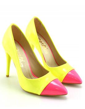 Pantofi Mateo galbeni