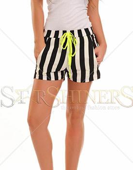Pantaloni scurti PrettyGirl City black