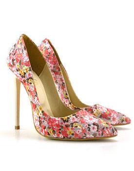 Pantofi Imprimo pink