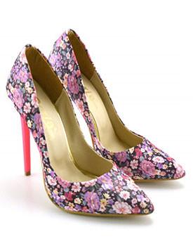 Pantofi Imprimo roz