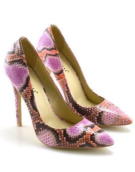 Pantofi Pandora roz-maro
