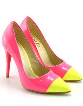 Pantofi Mateo roz