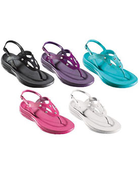 Sandale cu cristale Walkmaxx
