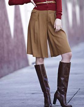 Trenduri de vara 2014 Fusta pantalon pentru femei