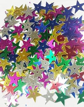 Confetti metalice decor mese