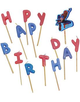Lumanari litere Happy Birthday