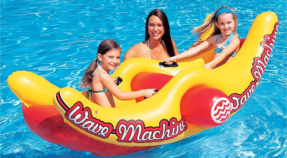 Saltea gonflabila Wave Machine