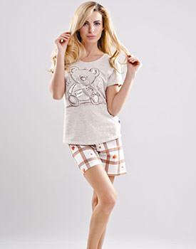 Pijama din bumbac ursulet
