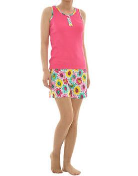 Pijama dama roz