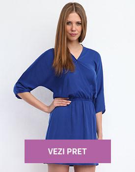 Rochie mini albastra