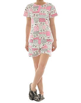 Pijama dama din bumbac