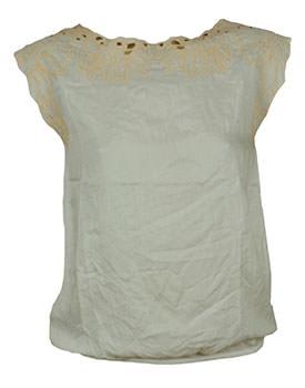 Haine de firma ieftine Tricou Pull and Bear Util alb
