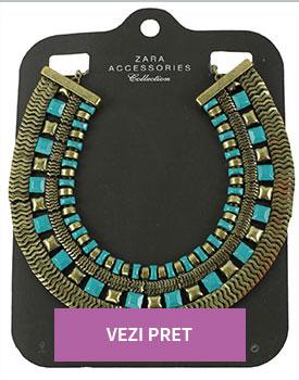 Coliere Zara la preturi de outlet Eleta Golden