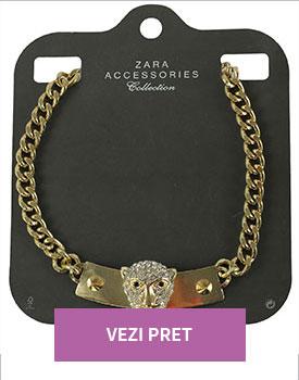 Colier Zara Lisle Golden