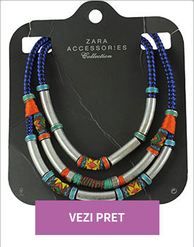 Colier Zara Shaft Silver