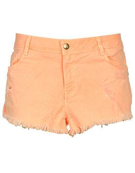 Pantaloni scurti Zara Carros orange