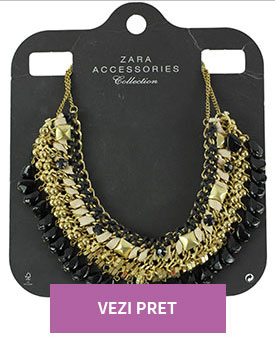 Colier Zara Scarlett Golden