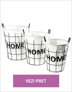 Set 3 cosuri rounded home