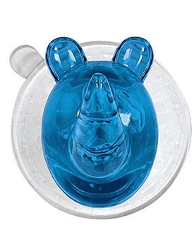 Accesorii de baie ieftine Cuier Ricco Rhino turquoise